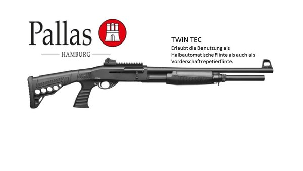 Pallas TwinTec Tactical, Semi-Auto-Pump